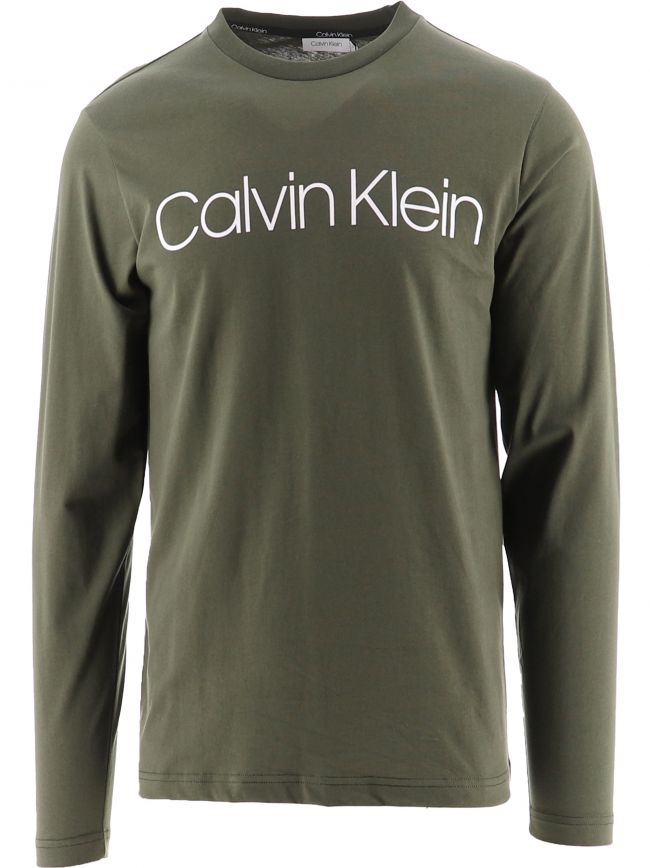 Green Organic Cotton Long Sleeve T-Shirt