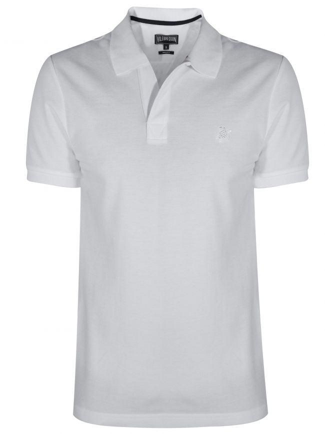 White Palatin Polo Shirt