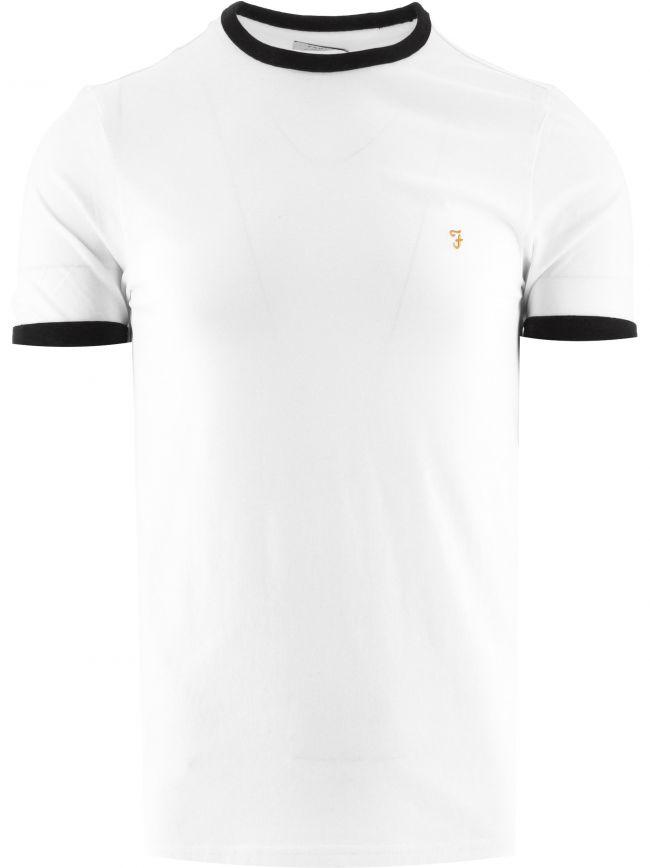 White Groves Ringer T-Shirt