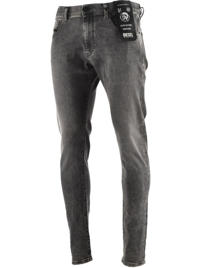 Grey D-Strukt Slim 34 Leg Jean