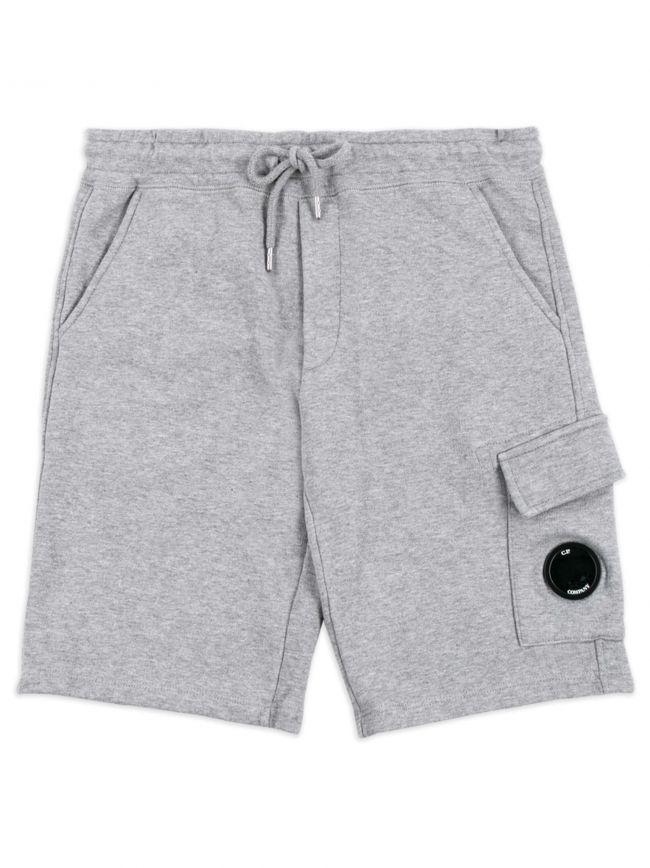 Grey Lens Logo Shorts