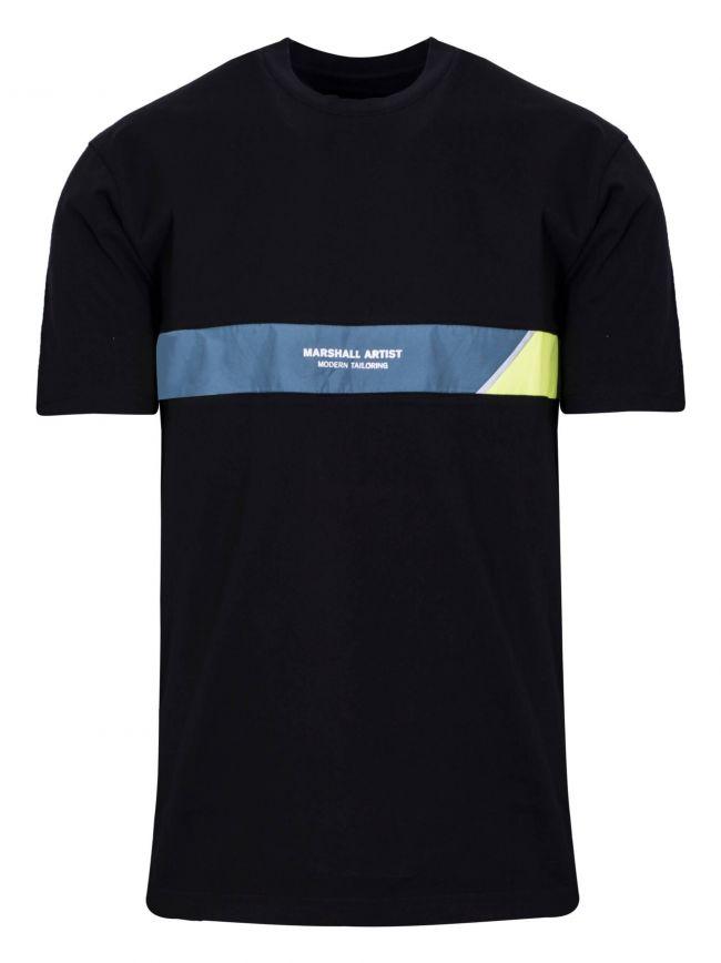 Black Short Sleeve Liquid Air T-Shirt