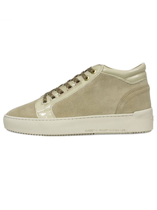 Light Beige Propulsion Mid Sneaker