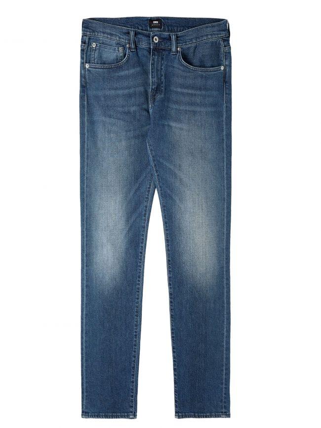 Blue Mission Wash ED-80 Red Listed Denim Slim Tapered Jean
