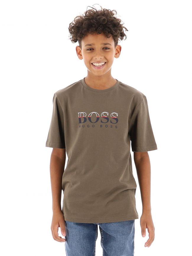 Khaki Short Sleeve T-Shirt