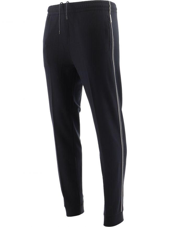 Dark Blue Cotton Modal Sweatpants