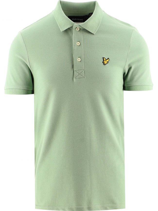 Green Plain Polo Shirt