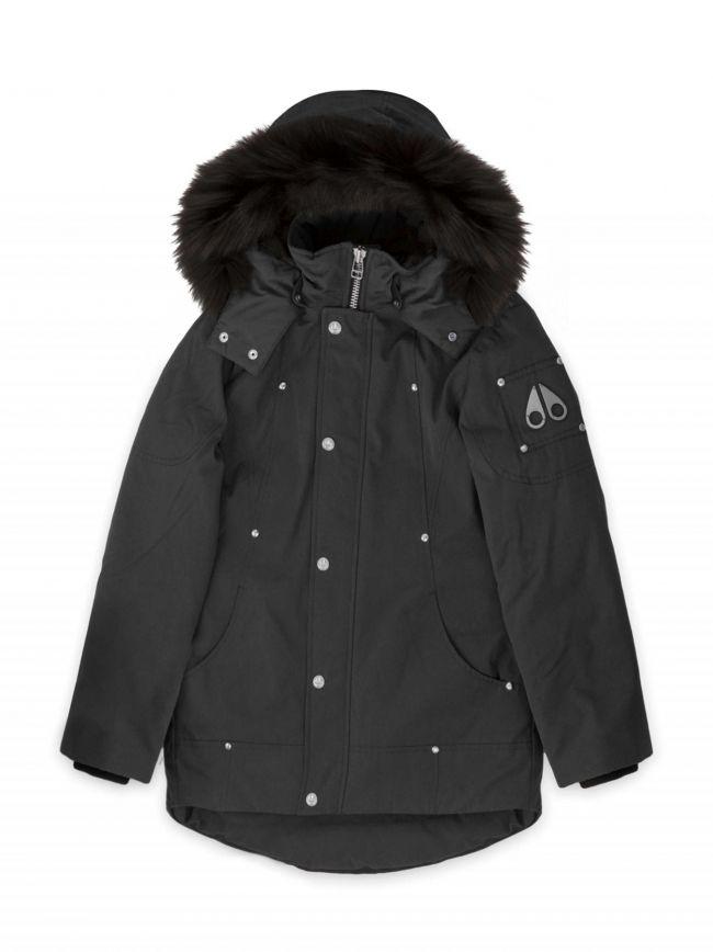 Moose Knucklers Black Unisex Parka Jacket