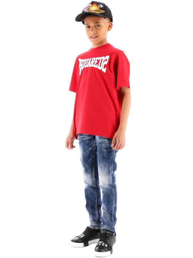 DSQUARED2 Kids Blue Skater Jean