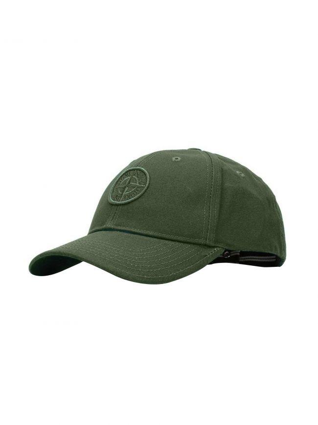Khaki Green Logo Cap