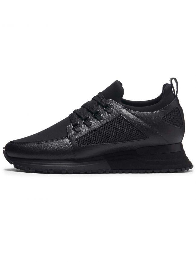 Black Croc Hiker 2.0 Sneaker