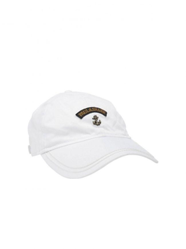 White Anchor Baseball Cap