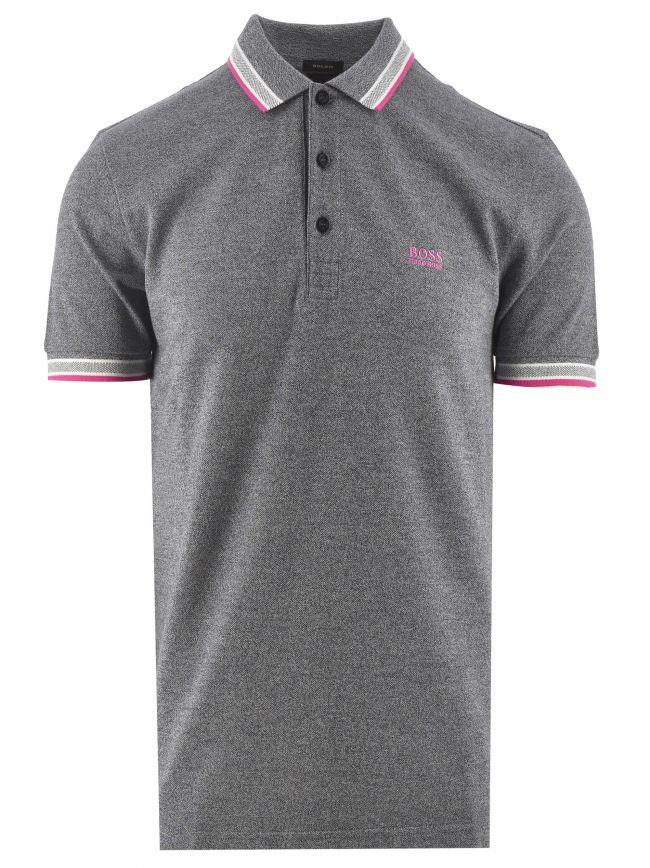 Grey Marl Paddy Polo Shirt