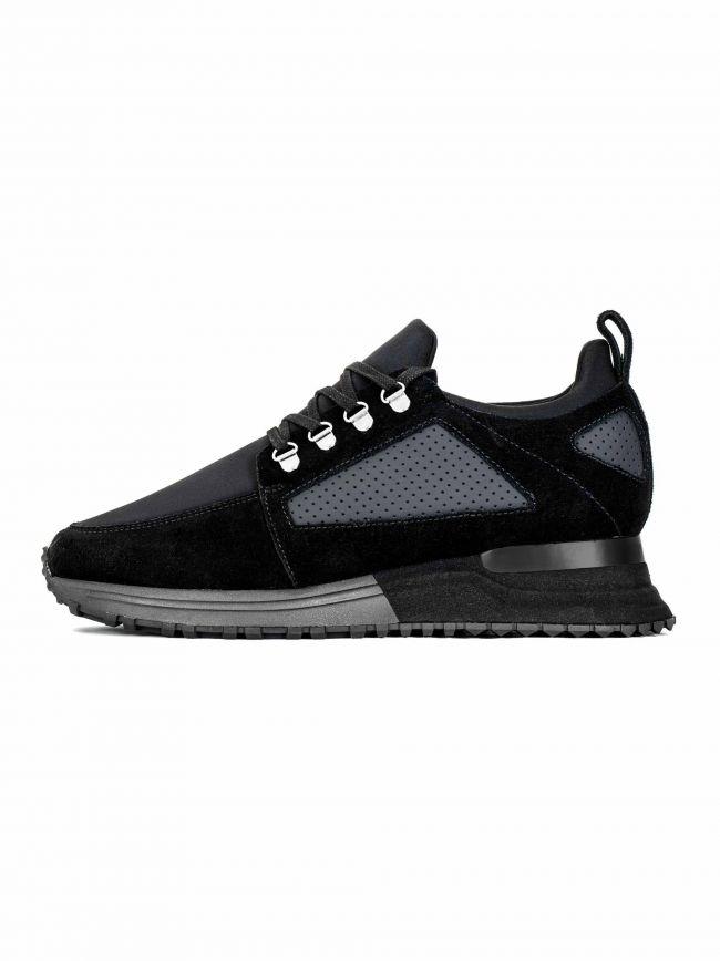 Black Suede Hiker 2.0 Sneaker