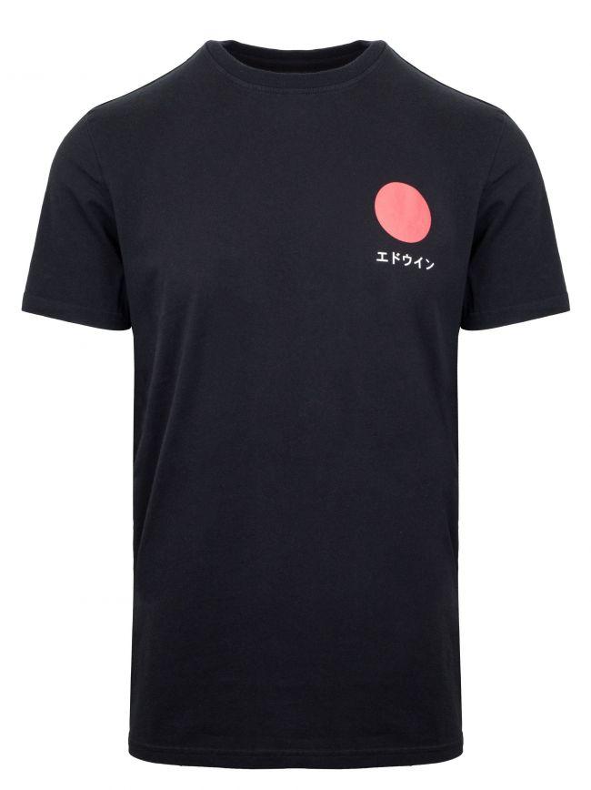 Black Japanese Sun T-Shirt