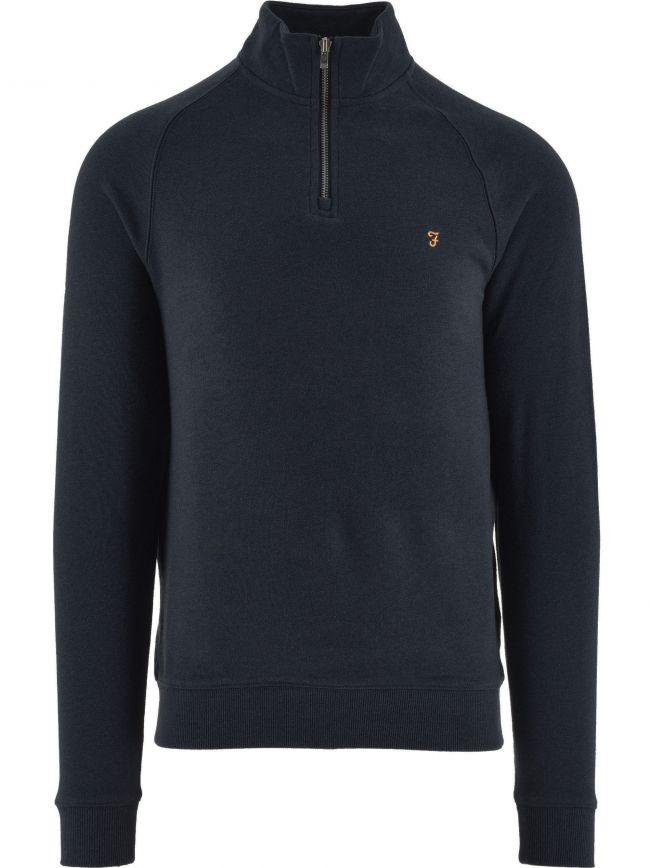 Navy Jim Quarter-Zip Sweatshirt