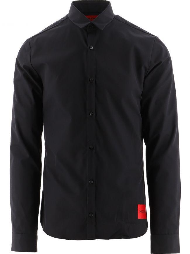 Black Ero3 Extra Slim Fit Shirt