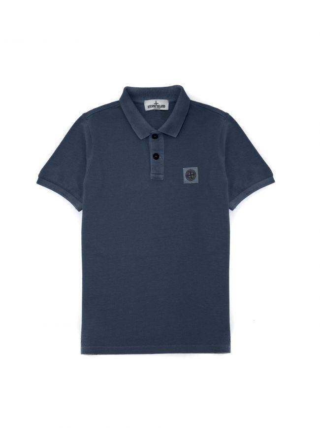 Dark Blue Piquí© Polo Shirt