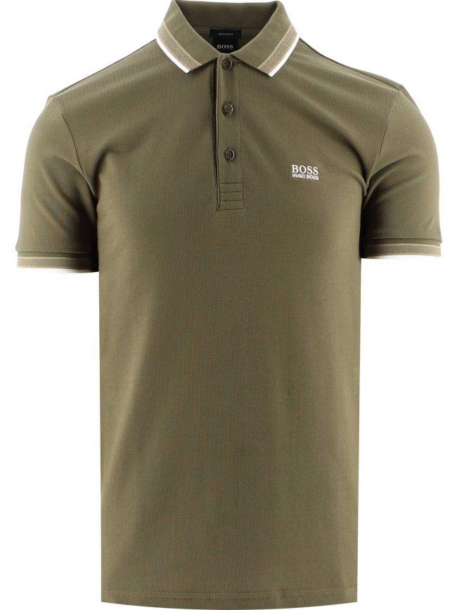 Khaki Paddy Polo Shirt