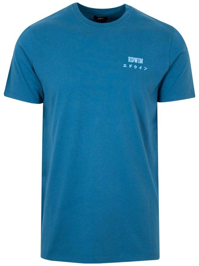 Legion Blue Garment Washed T-Shirt