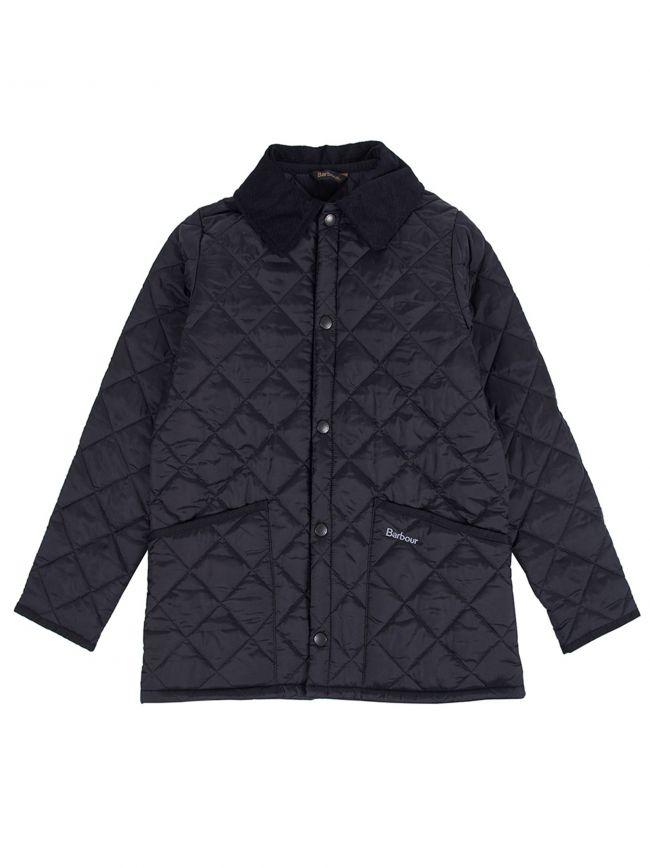 Dark Blue Liddesdale Quilted Jacket