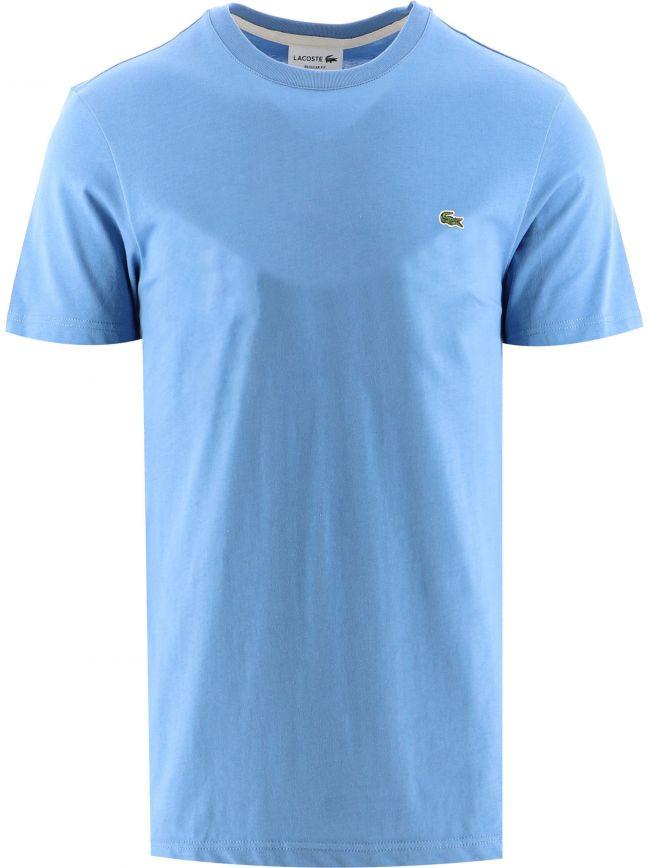 Light Blue Short Sleeve Crew Neck T-Shirt