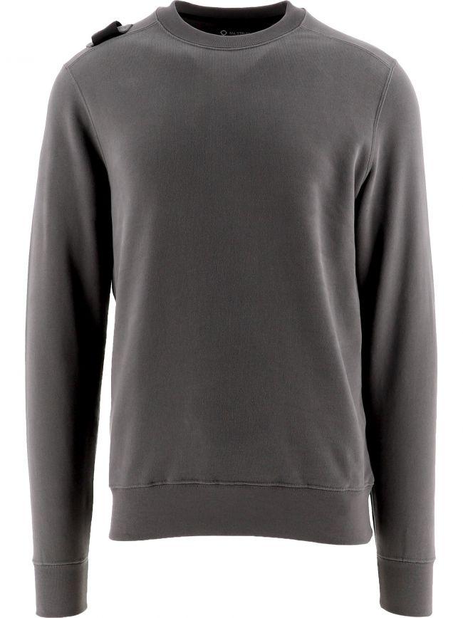 Grey Core Crew Neck Sweatshirt