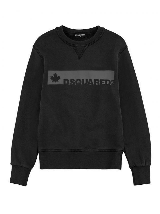 Black & Grey Logo Sweatshirt