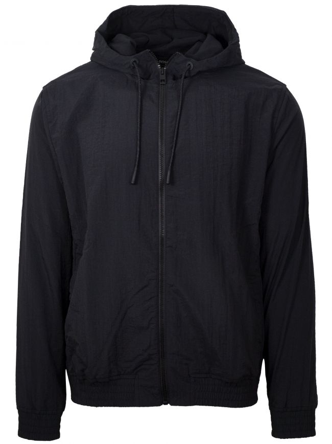 Black Zinc Hooded Sweatshirt