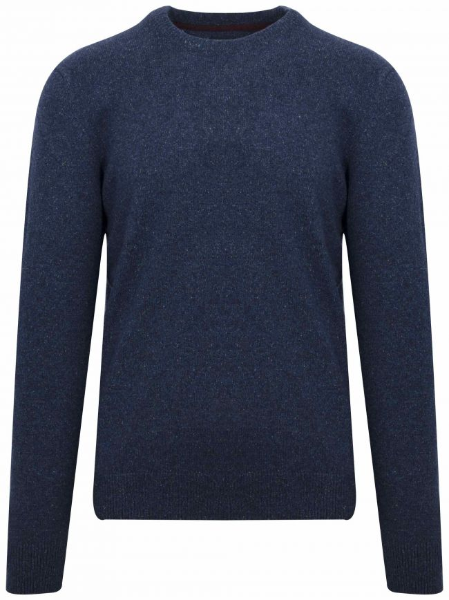 Navy Tisbury Wool Sweatshirt
