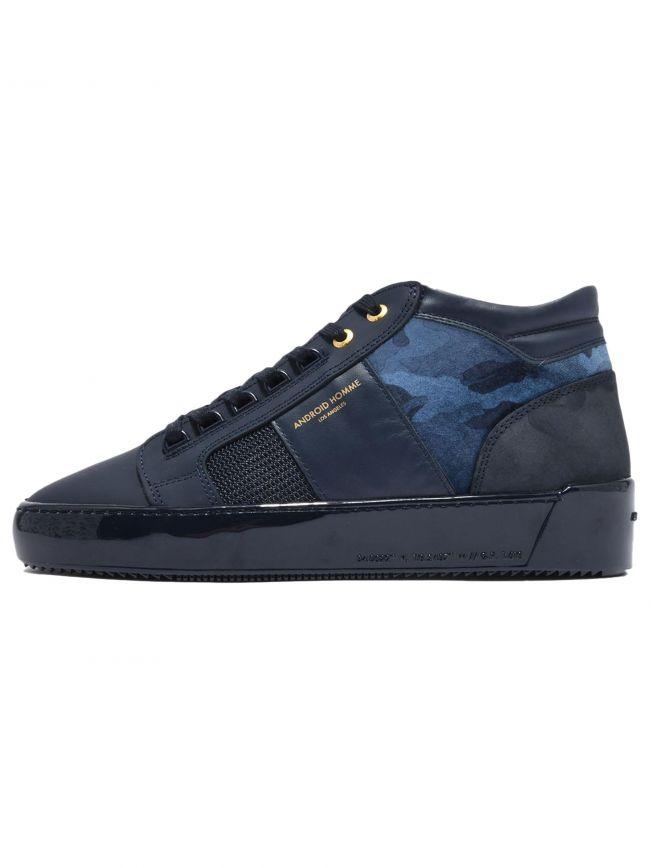 Slate Navy Camo Propulsion Mid Sneaker