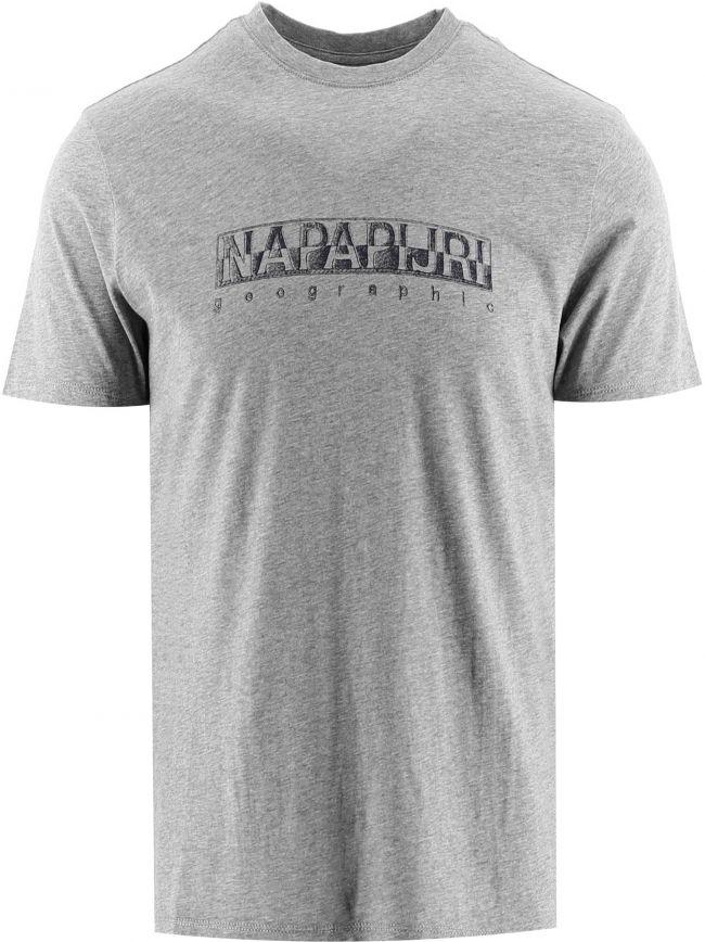 Grey Short Sleeve Sallar T-Shirt