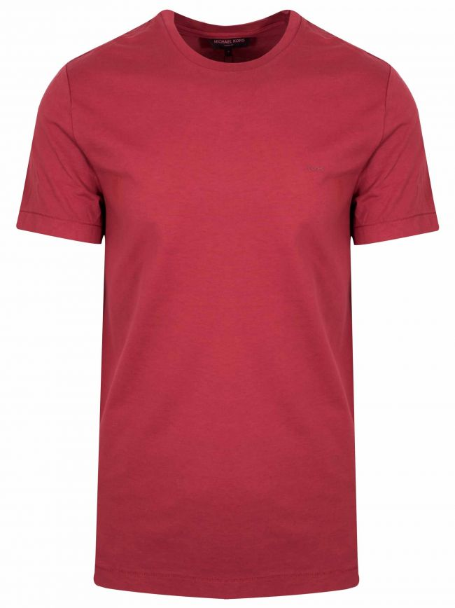 Crew Neck Field Red T-Shirt