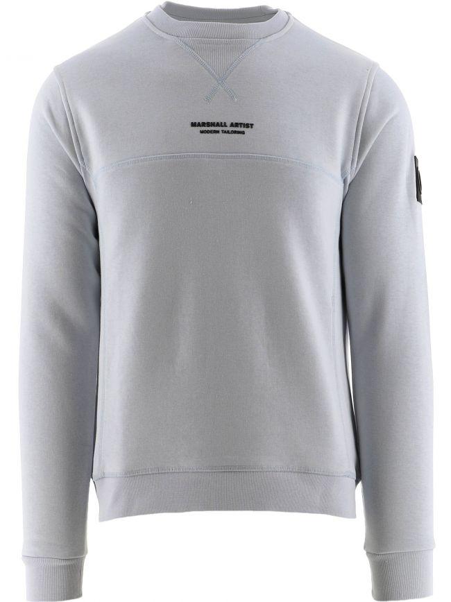 Pale Blue Siren Crewneck 420 Sweatshirt