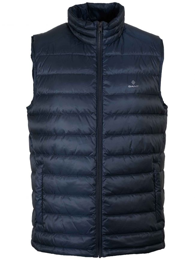 Navy Blue Lightweight Gilet