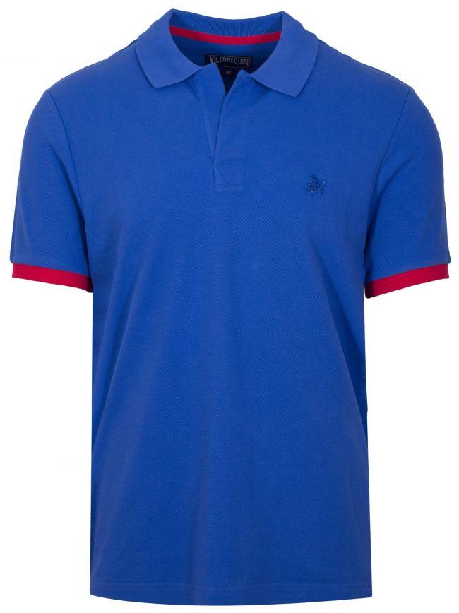 Ocean Blue Palatin Polo Shirt