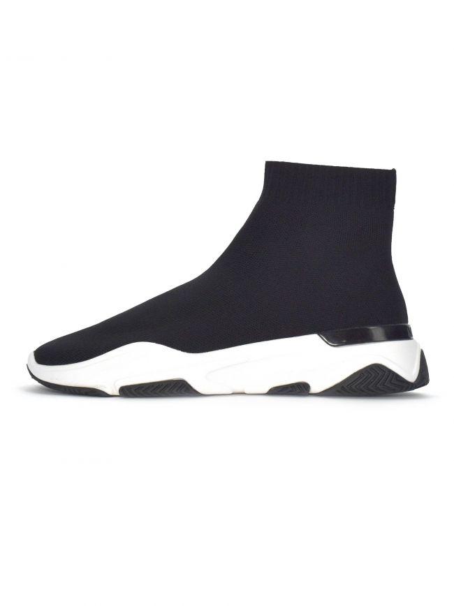Black & White Sock Runner