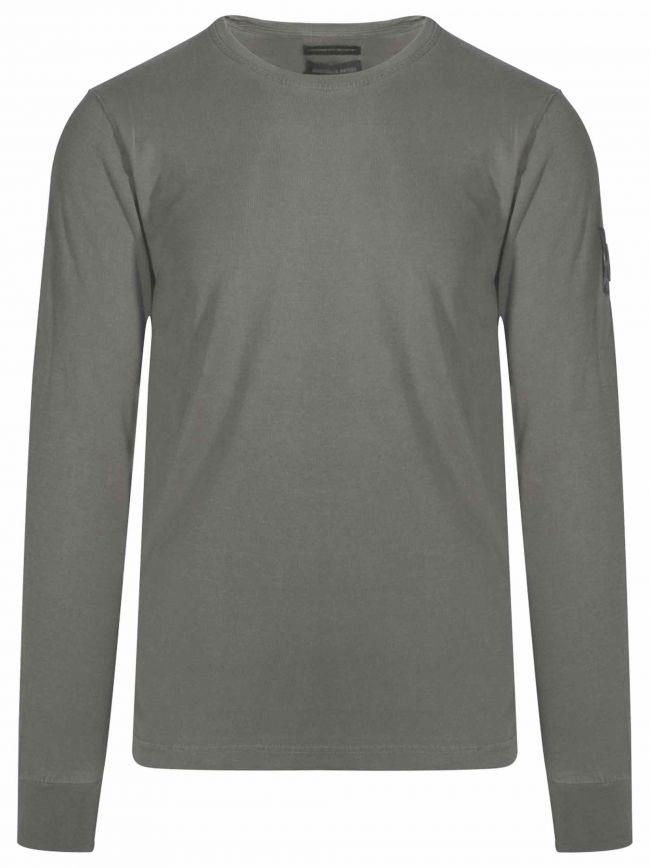 Grey Garment Dyed T-Shirt