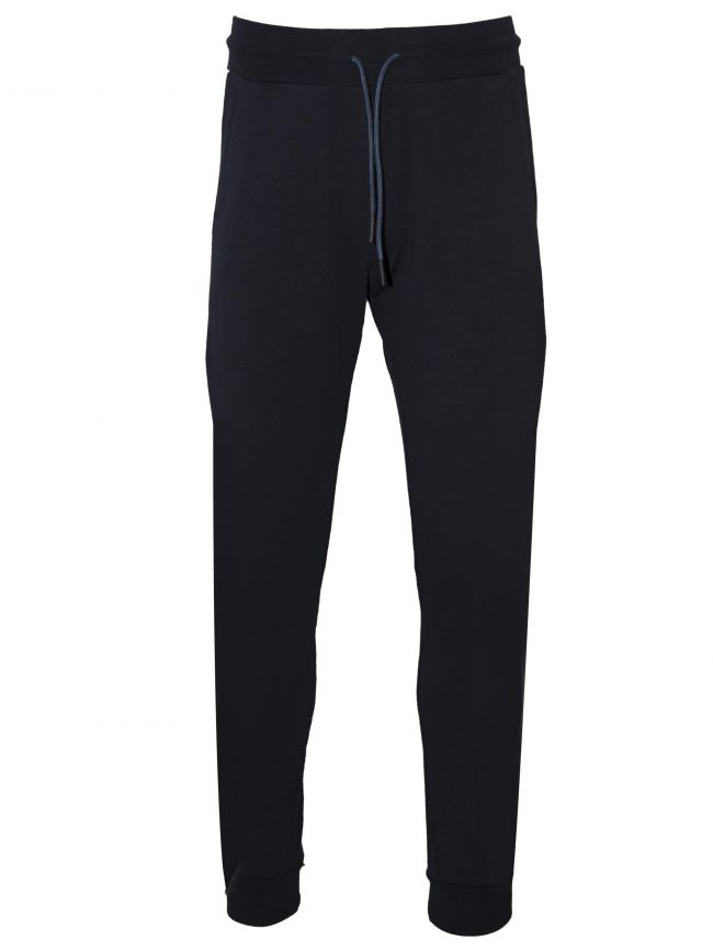 Navy & White Jogging Bottoms