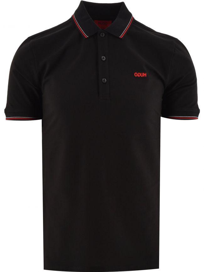 Black Dinoso 211 Polo Shirt