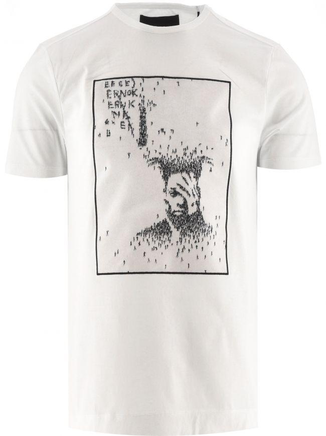White The Walk T Shirt   Designed by Craig Alan