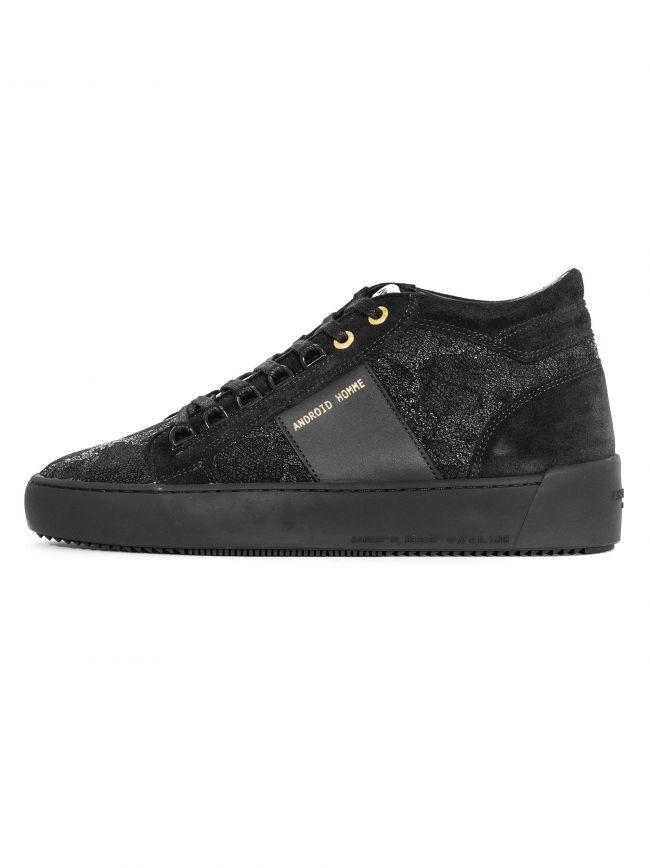 Black Propulsion Mid Hybrid Python Sneaker
