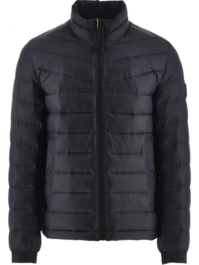 Navy Lightweight Slim Fit Olido 1 Down Jacket