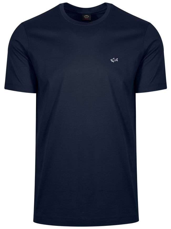 Navy Shark Logo T-Shirt