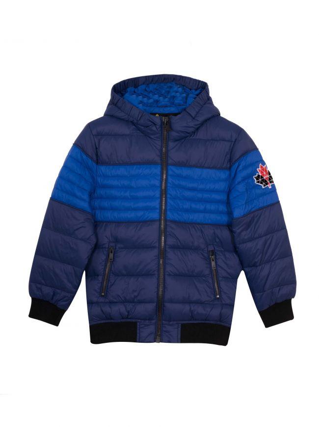 Navy Blue Peel Jacket