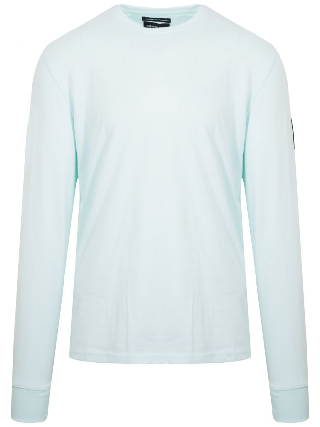 Light Aqua Long Sleeve Siren T-Shirt