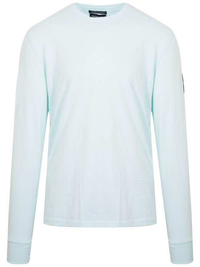 Light Aqua Long Sleeve Siren T-Shirt