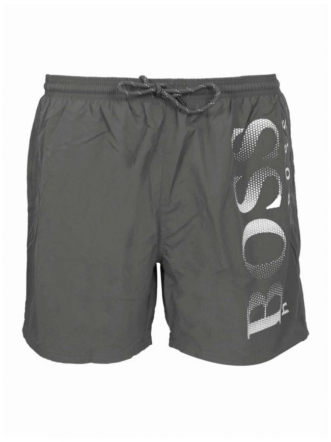 Grey Octopus Swim Shorts