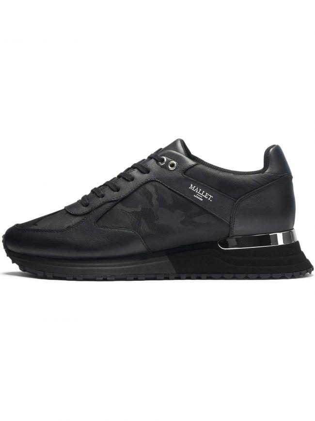Black Midnight Camo Lux Runner Sneaker