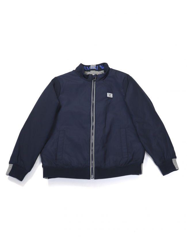 Armani Kids Navy Padded Jacket